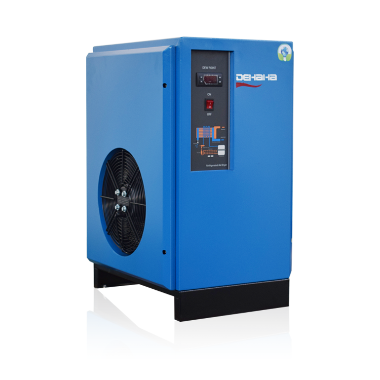 China DHH Supplier Industrial Compressor Refrigerated Air Dryer