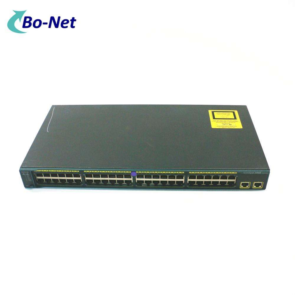 Used CISCO WS-C2960-48TT-L 48port 10/100M managed switch network switch C2960 series