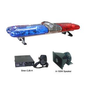 1200Mm Halogen Rotierenden Lichtbalken/48 Zoll 12V Rot Blau Revolving Licht Bars Tbd-Ga-110Z