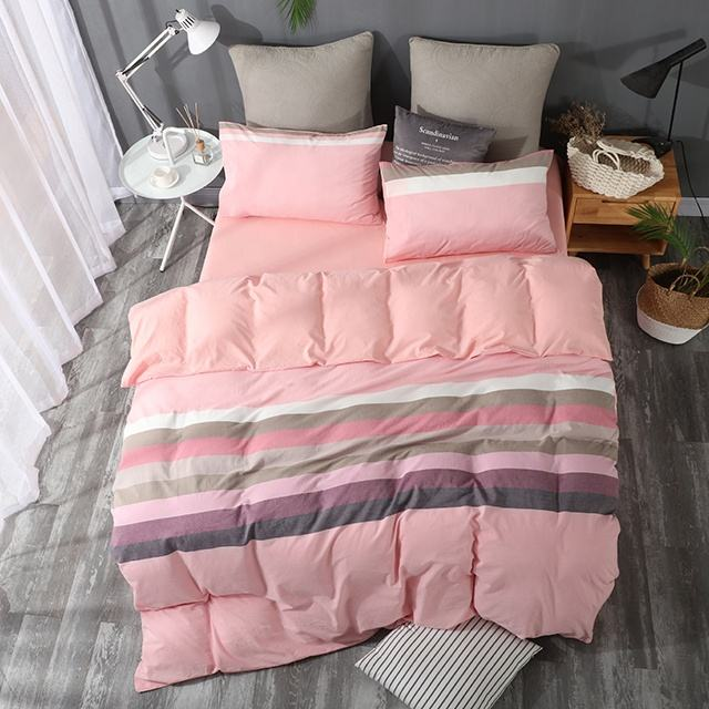 Beibo top seller soft washed cotton bedding comforter sets luxury 100% cotton bedding set king size branded bedding sets