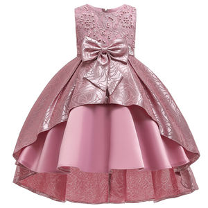 MQATZ Wholesale Baby Girls Birthday Wedding Party Dresses Kids Frock Children Garments T5176