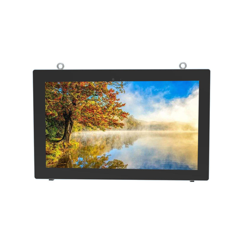 Outdoor Ip65 Zonlicht Zichtbaar Lcd Touch Screen Wall Mount Digital Signage Lcd Monitor Wifi 4G Reclame Outdoor Tv
