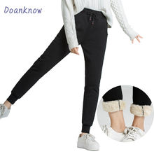 top selling women's casual feet sports pants pocket, winter plus velvet warm quality assurance wholesale