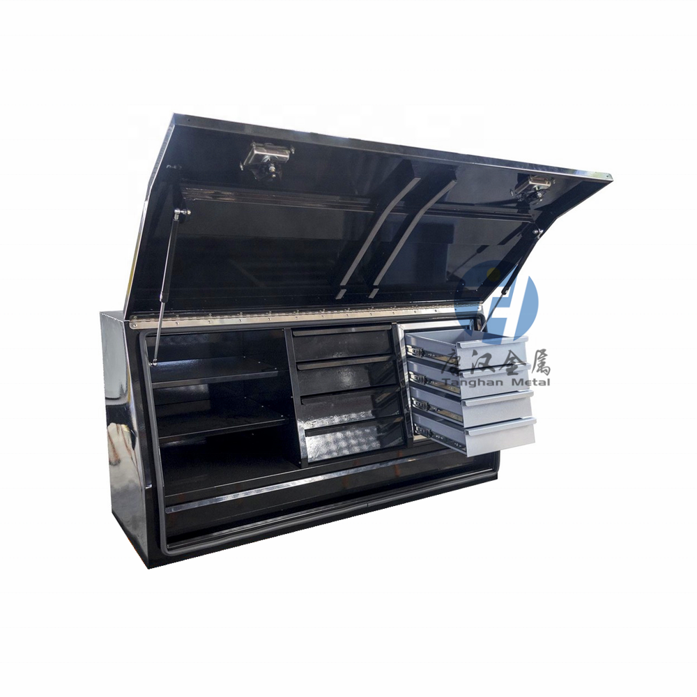 custom heavy duty Steel Ute / Truck Tool Box with Drawers