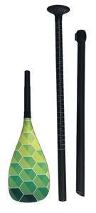 full carbon fiber water sports adjustable two-piece or three-piece adult stand up paddle SUP paddle