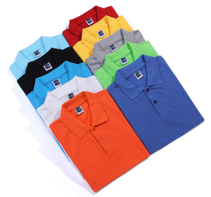 Fashion Short Sleeve Polo T-shirt For Men Unisex Cheap Wholesale Men's T-shirt