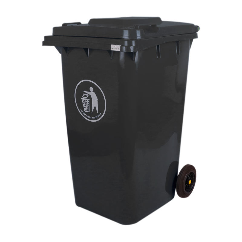 240lt 240ltr commercial plastic outdoor waste bin customized