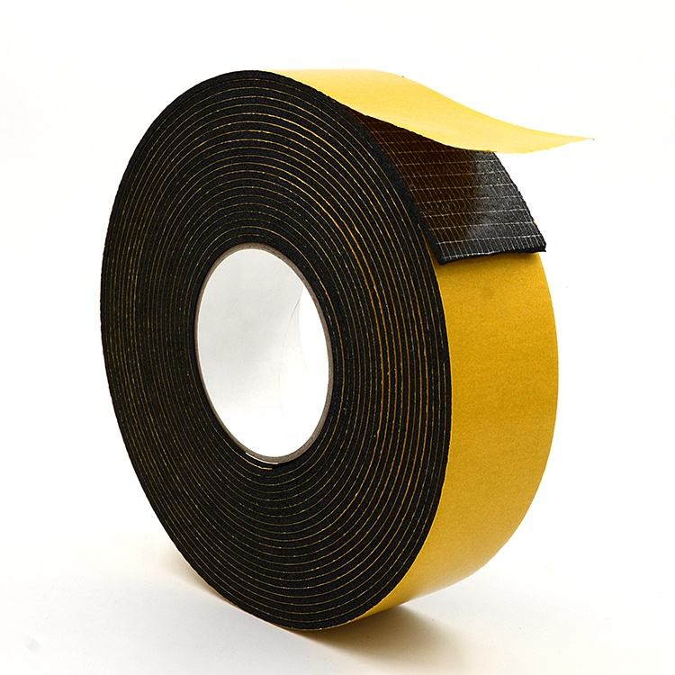 Thermal Insulation Rubber Foam Sealant NBR/PVC Insulation Tape used for Heat Sound Insulation