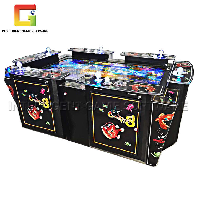 Provide Game Adjustment Guidance Coin Operated Games Fish Shooting Machine