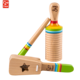 Hape Rhythm Set Natural Wooden Music Instrument Toy for Kids