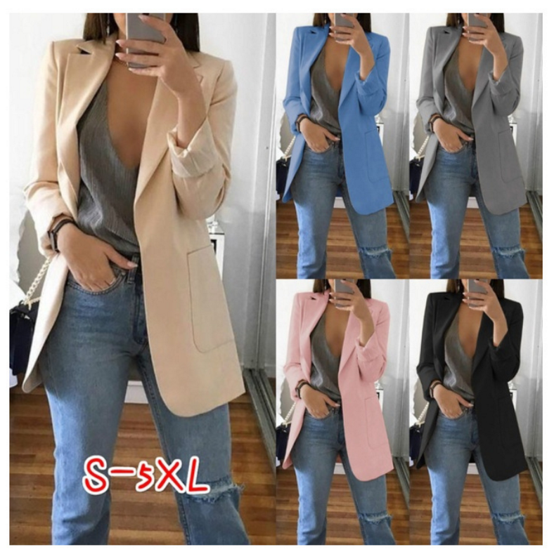 Fashion Women Blazer And Jackets Small Women Suit Korean Version Ladies Blazer