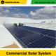 Yangtze solar 25kw system for 5hp water pump slew drive with solar tracking system