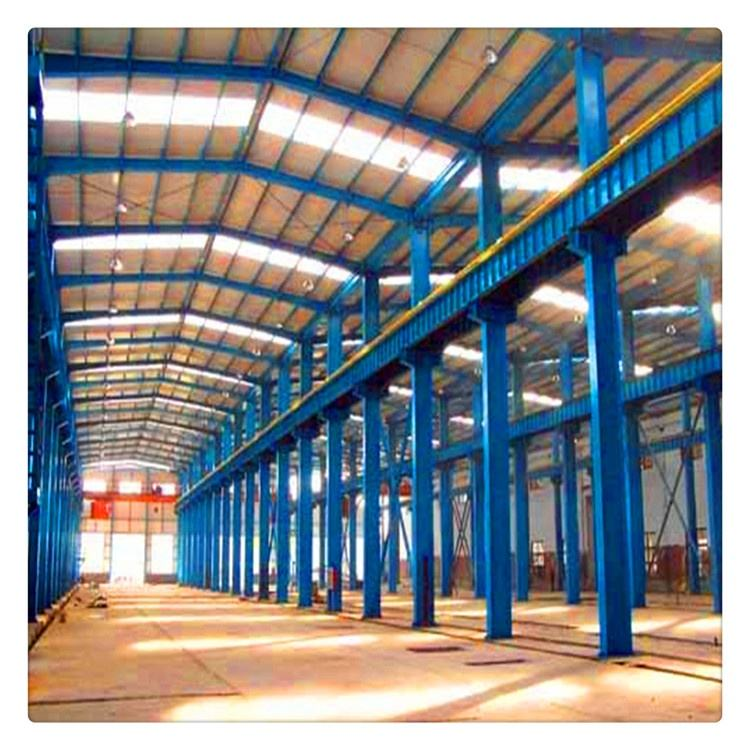 Pre engineering High Rise Hotel Factory Two Story Prefabricated Steel Structure Building