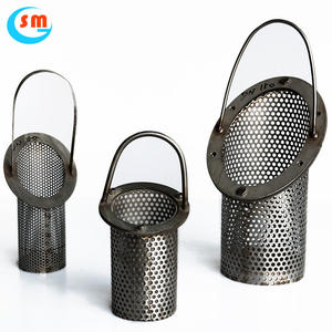20 Mikron 304 Stainless Steel Wire Mesh Round Mesh Metal Filter Layar Filter Disc