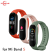 New Good Quality Ready to Ship 23 colors Mi band 5 watch band silicone wrist strap for xiaomi mi band 5 bracelets