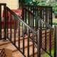 Handrail Aluminum Aluminum Aluminum Handrail Onsite Technical Training Support Handrail Modern Black Metal Balcony Railing Aluminum Balusters