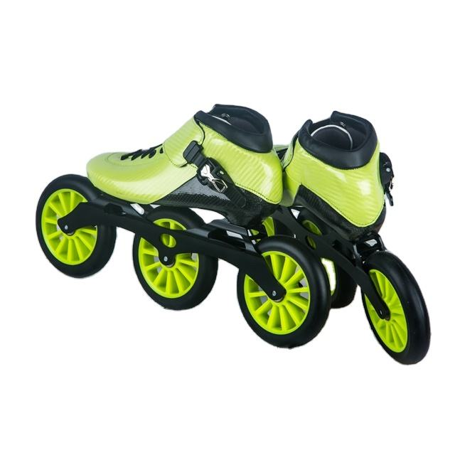 Carbon fibre inline skate, full carbon inline speed skate