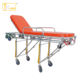 Foldable Aluminum Height Position Adjustable Mortuary Stretcher, Mortuary Funeral Stretcher medical emergency trolley For dead