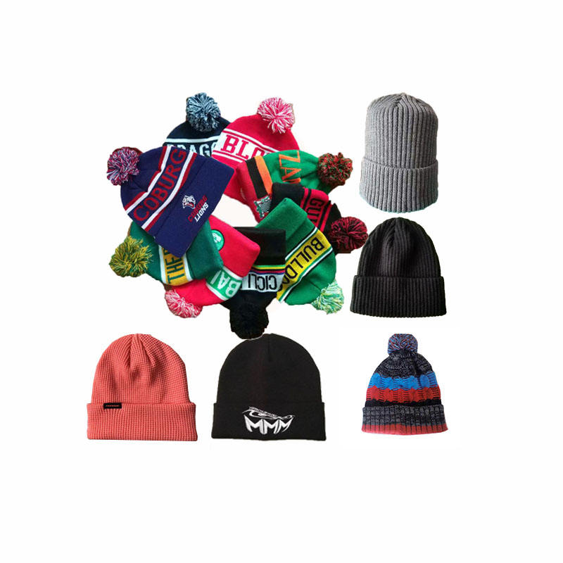 Promotional mens jacquard custom made skull beanies hats/ outdoor sport 100% acrylic bonnet