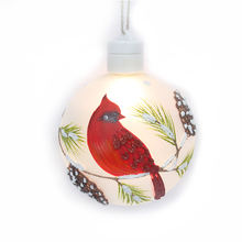 Luxury popular hot selling ornaments inside christmas glass ball