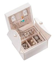 2020 New design lovely portable unique jewelry storage box