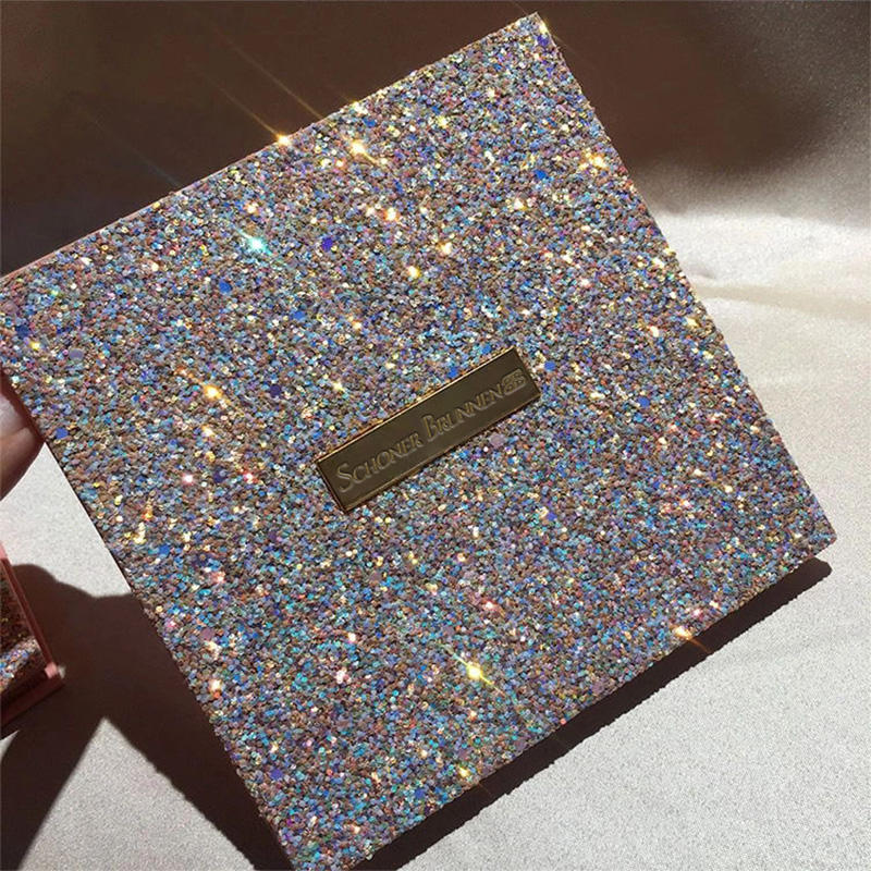 Private Label Star Shining 16 Colors Shimmer Matte Glitter Eye Shadow Cosmetic Makeup Pressed EyeShadow Eyeshadow Palette