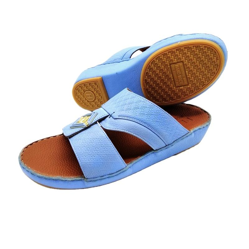 Hot sale Summer Comfortable Slides Footwear For Men super quantity arabic shoes