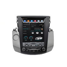 Android 8.0 Quad Core 2 din Car Stereo Multimedia DVD Gps Player For Toyota RAV4 2006-2012  GPS Navigation Car Auto Radio