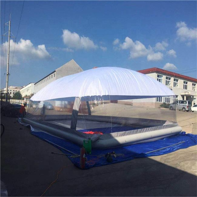 New designed outdoor swimming pool cover