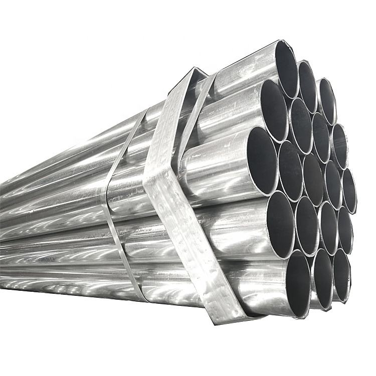 welded galvanized steel pipe for scaffolding material