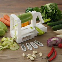 Kitchen hand held arrot veggie food vegetable spiralizer
