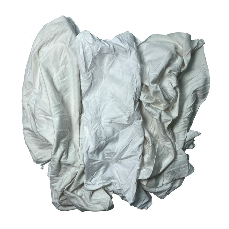 Factory Price Industrial Wiping Rags White Cotton Rags For Cleaning