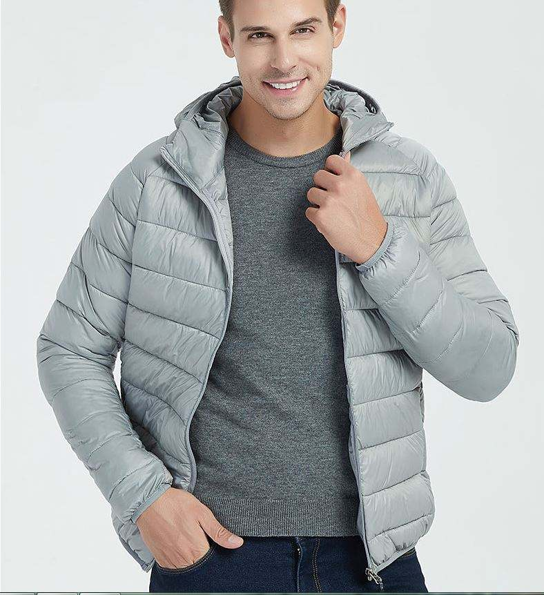 2020 New Hot Sale Fashion Style Men's Lightweight Water-Resistant Packable Puffer Casual Jacket For Winter Outdoor