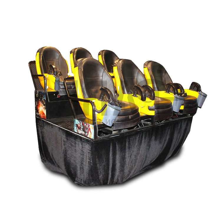 Flight Theater 7d 12d Cinema Equipment Stand Roller Coaster 2 Seaters Chair 9d Amusement Simulator