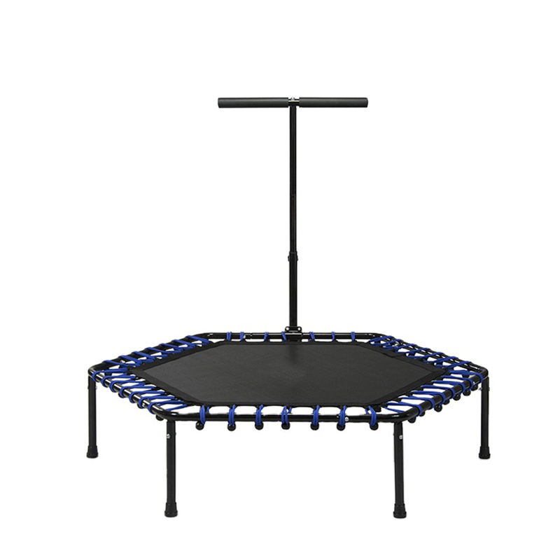 Sundow Concise Design Rebounder Indoor Fitness Trampoline With Handle