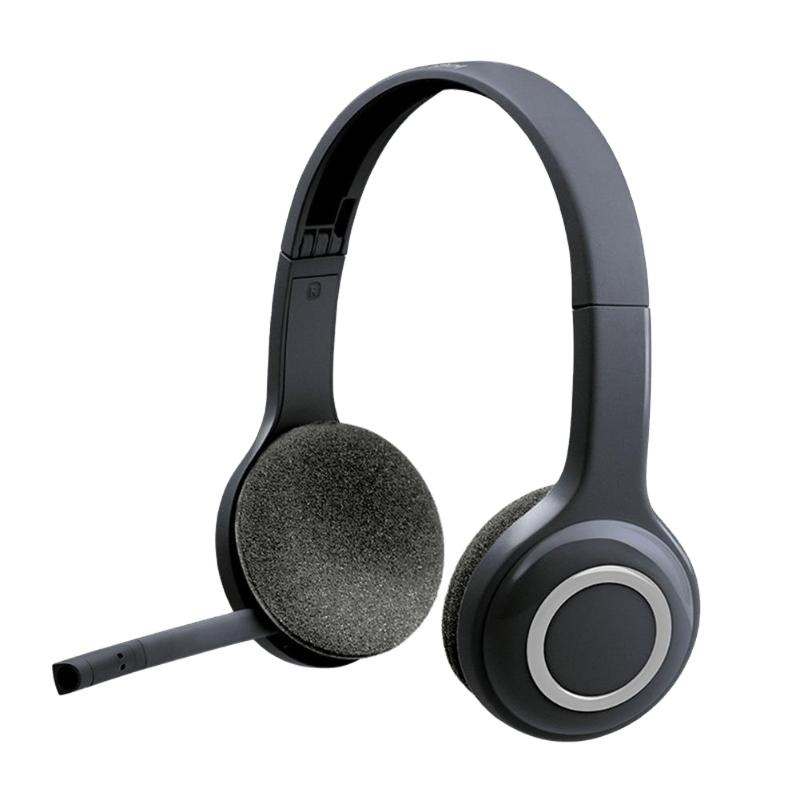 Logitech H600 Wireless Headset Rotating Portable Headphone 2.4GHz Wireless Connection Noise Cancellation