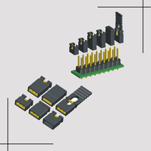 2 pin mini micro jumper for 2.54 mm pin header pcb connector