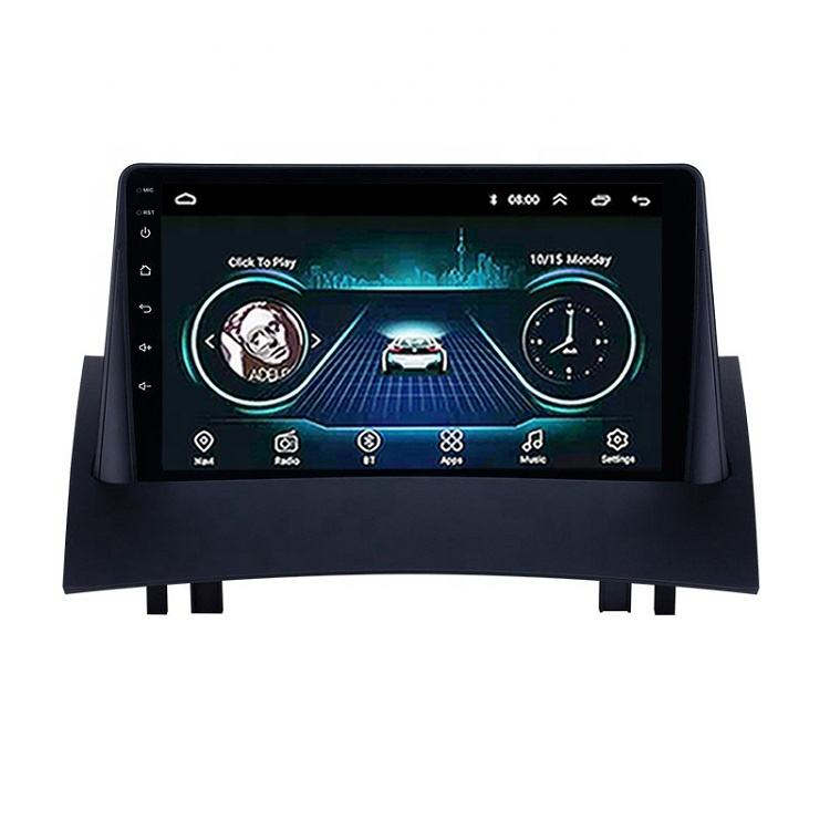 For Renault Megane 2 2002 2003 2004 2005 2006 2007 2008 2009 2 Din Android Car Radio Multimedia Video Player Navigation GPS