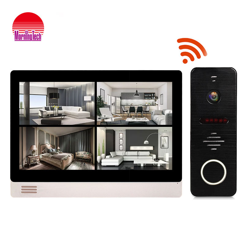 Wireless Video Doorbell 9-inch IP Indoor Monitor Video Door Phone Intercom