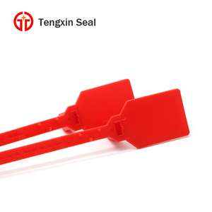 TX-PS210 China supplier truck heads and trailer heads red laser print plastic seal logo