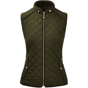 Winter Down Long Puffer Vest, Various Sizes and Colors Puffer Lady Waistcoat, Outdoor Women's Quilted Padding Vest