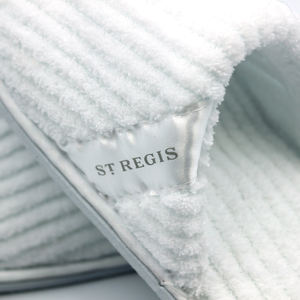 Customizable luxury slipper for hotel white hotel disposable slippers