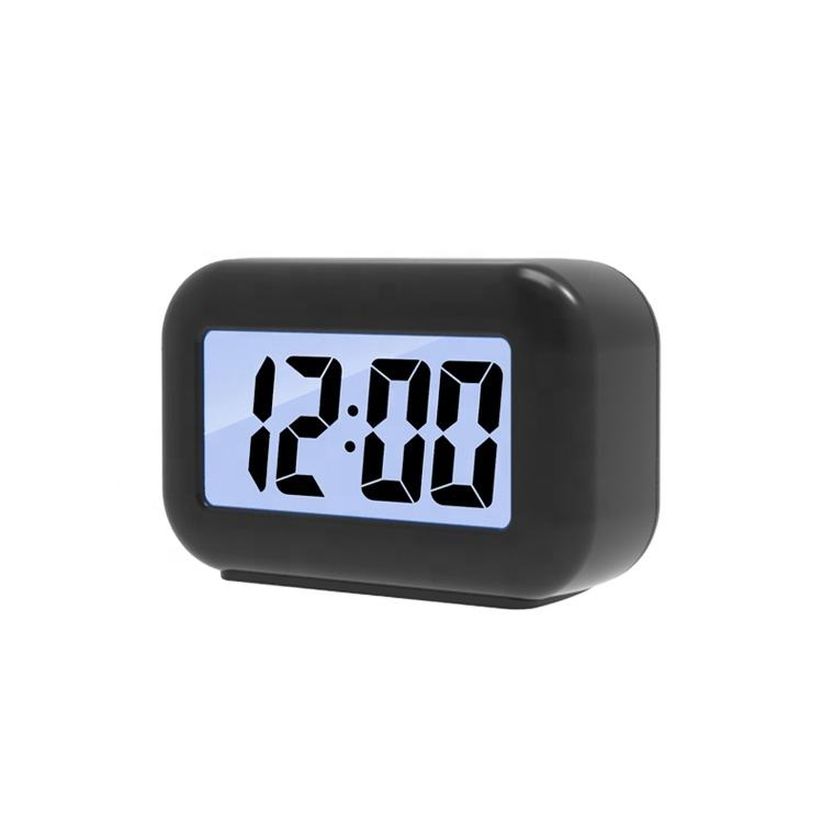 2019 Amazon New Mini ABS Rectangle Wake Up Alarm Clock For Kids