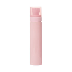 Luxury cosmetic 100ml pink spray bottle customized packaging pump bottle