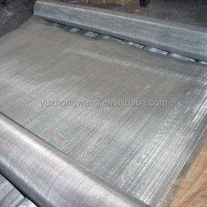 304 Stainless Steel Crimped Wire Mesh/Bahasa Belanda Menenun Stainless Steel Wire Mesh Dalam Gulungan Langsung Pabrik