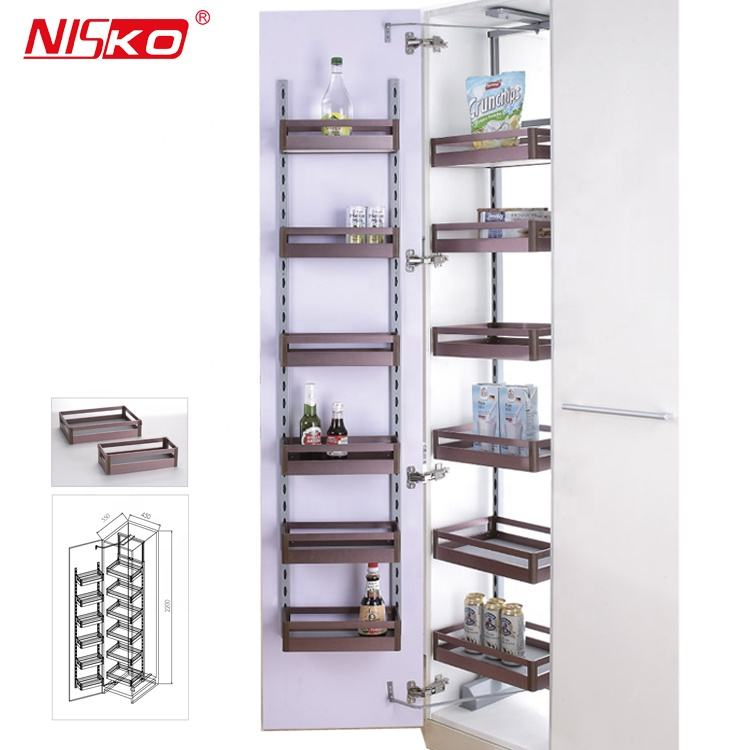 Kitchen Cabinet Soft Close Pull Out Tall Larder Unit Pantry organizer