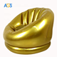 indoor and outdoors chair inflatable Blow up sofa inflatable gold inflatable chair sofa for adult