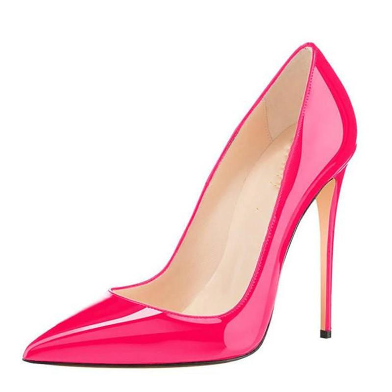2020 Women Big Size 35-43 Candy Color Fox Fur Hairy Pump Fashion Cheap Shoes Ladies Lady Wholesale High Heel Women's Pumps
