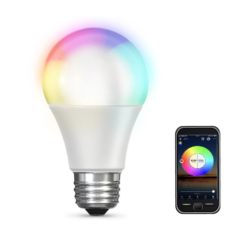 Bluetooth Smart Lamp LED 10w RGB Sig Mesh Lamp Bluetooth A60 LED Lamp
