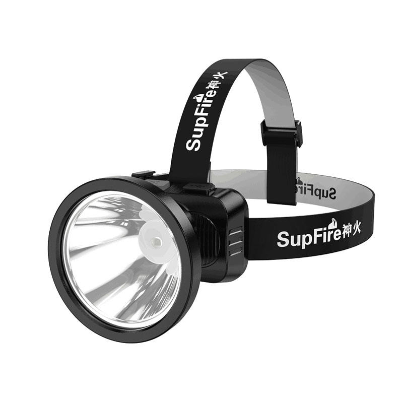 Supfire mack head lamp for camping fishing head torch usb rechargeable led hand torch light led headlamp miners headlamps